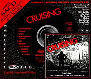 "WE HAVE OUR WINNERS!  ""CRUISING"" SOUNDTRACK SACD FROM AUDIO FIDELITY!"