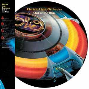ELO Out of the Blue Picture Disc