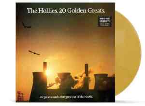 Hollies Golden Greats LP