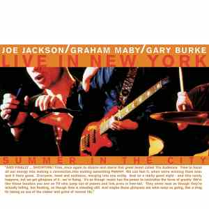 "Holiday Gift Guide Review: Joe Jackson, ""Summer in the City: Live in New York"""