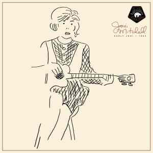JoniMitchell EarlyJoni 1LP Cover min