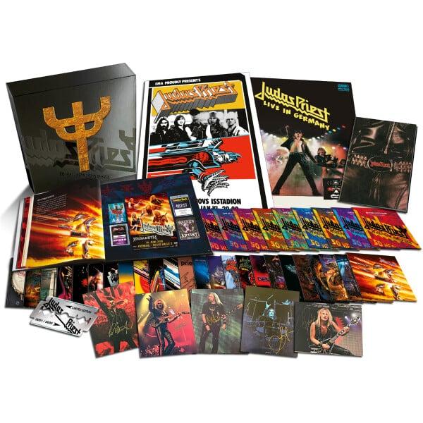 Judas Priest 50 Years of Heavy Metal Music Box