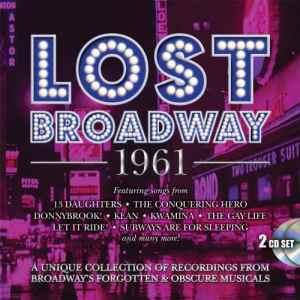 Lost Broadway 1961