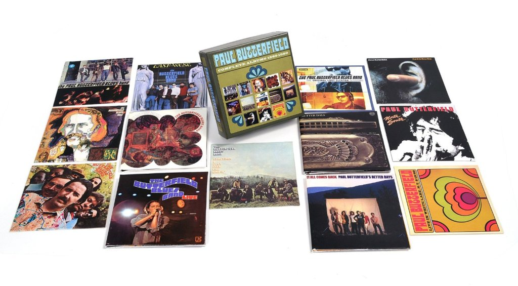 Paul Butterfield - Complete Albums 1965-1980