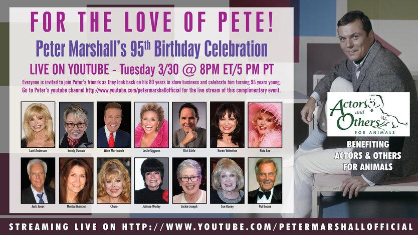 Peter Marshall 95