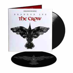 TheCrow Soundtrack 2LP Black Etching