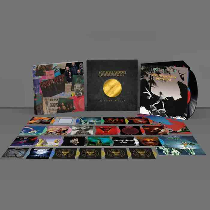 Return To Fantasy Uriah Heep Mark 50 Years In Rock With New Box Set The Second Disc