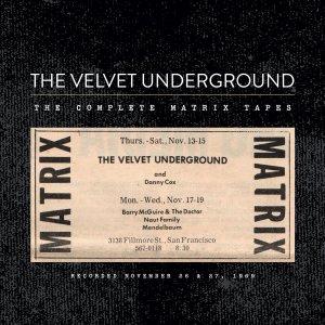 Velvet Underground - Matrix Tapes Cover