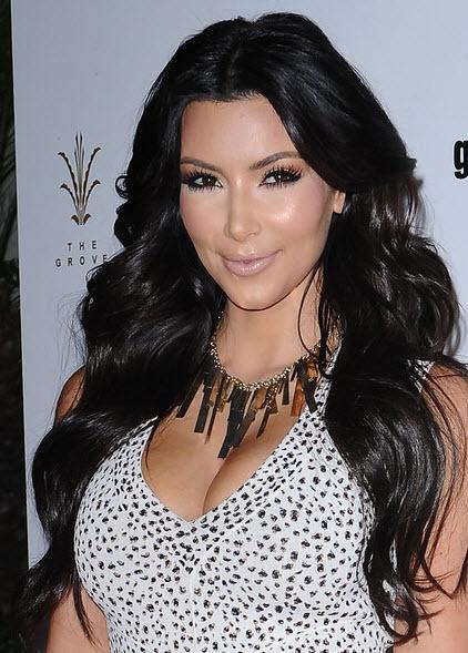 Kim Kardashian Inspired Bombshell Curls The Secret
