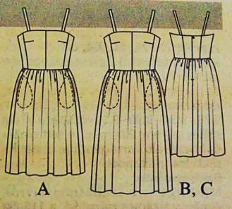 TheSecretCostumier - Burda pattern drawings