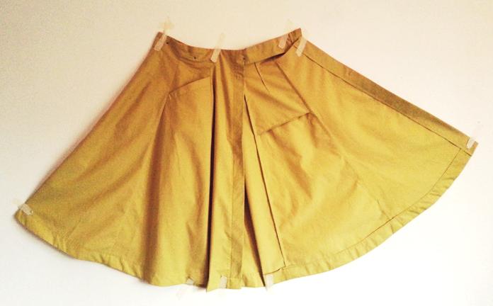 TheSecretCostumier - A-line skirt