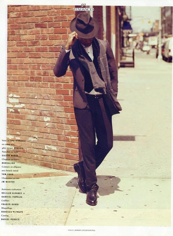 Vogue Hommes International Editorial