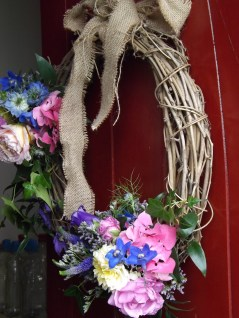 Rustic Wedding Wreath