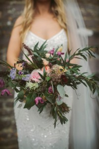 Wild and Natural Summer Wedding Bouquet
