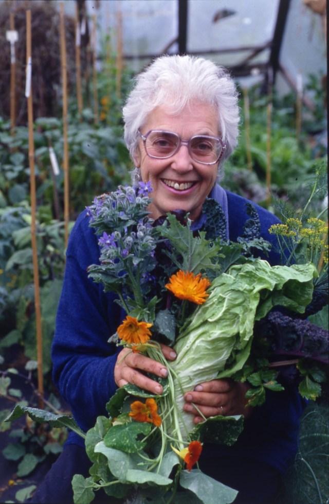 Ballymaloe Garden Festival - Joy Larkcom,  credit Roger Phillips