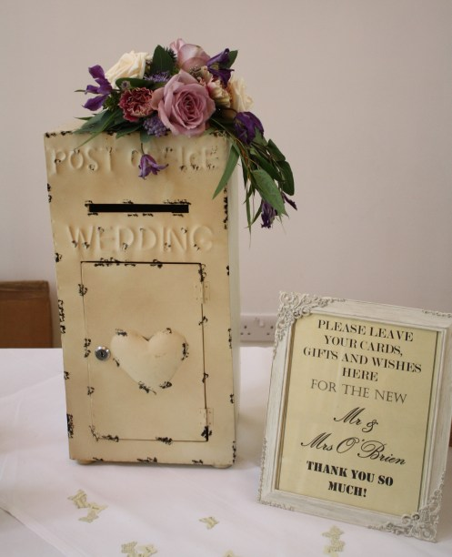 wedding post box for hire
