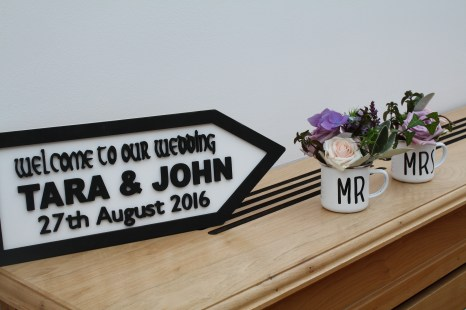 Wedding Sign Castlemartyr