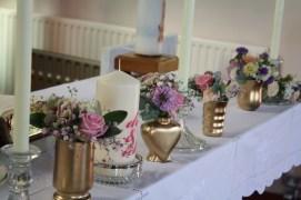 Cullen Church wedding altar flowers