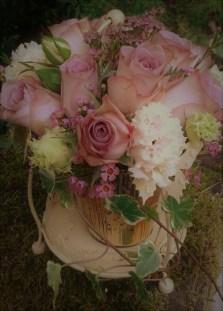 Memory Lane Rose Gift Vase