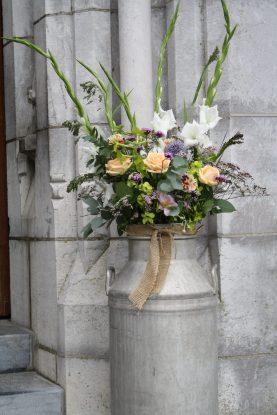 Milk Churn Wedding Flowers Kanturk