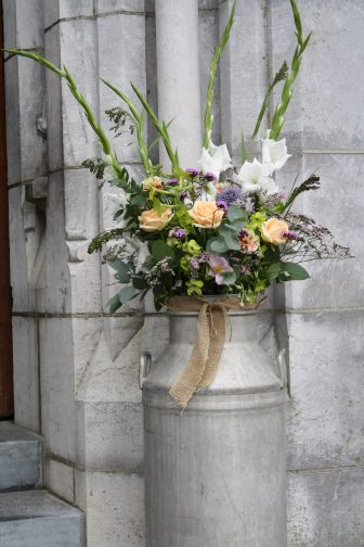 Milk Churn Wedding Flowers Kanturk