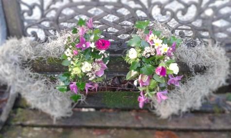 Moss Hearts Wedding