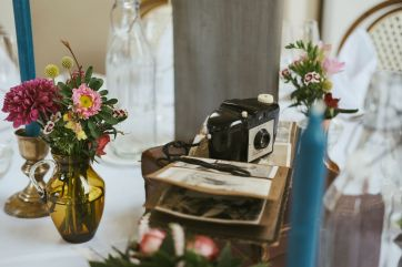 Photography Themed Table Setting