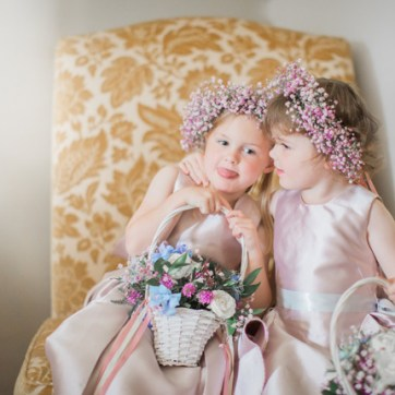 Flower Girls Flower Crowns