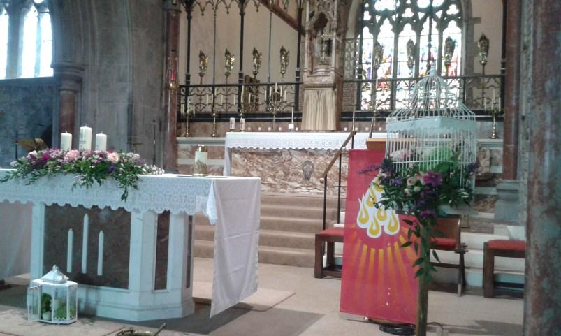 Adare Abbey Wedding Flowers