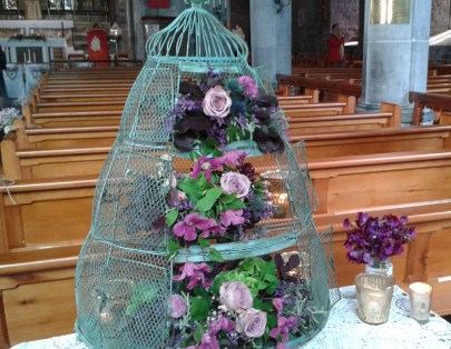 Large Birdcage Arrangement