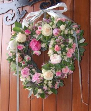 Flower Heart Wedding Flowers