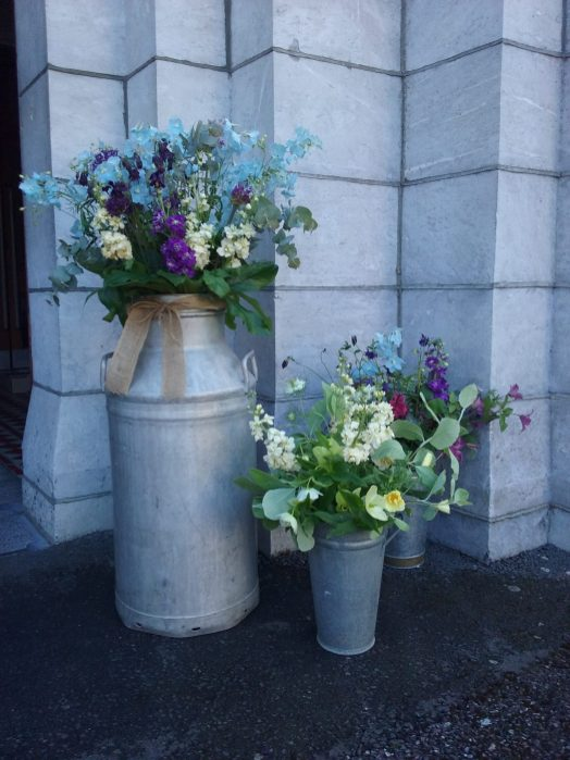 Milk Churns Mallow Wedding