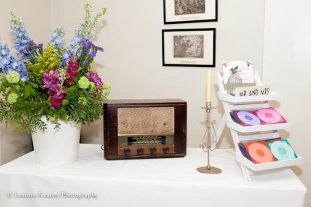Music theme wedding Springfort Hall