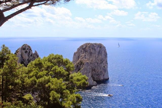 Capri, Amalfi coast, Faraglioni