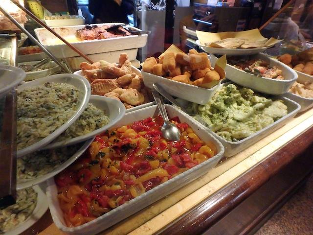 Osteria al Portego, Venise, cicheti