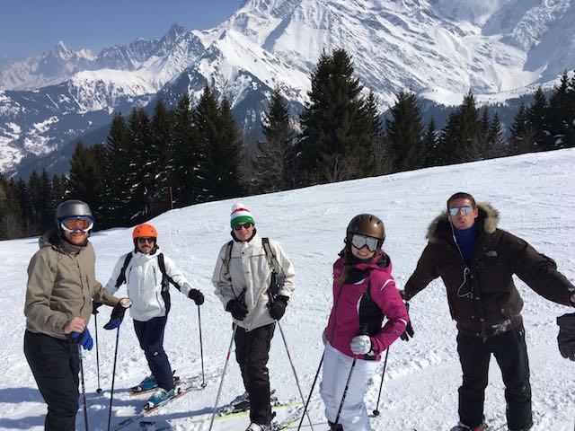 Skiing Megève