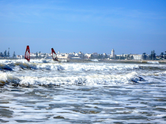 Windsurf in Essaouira, Morocco