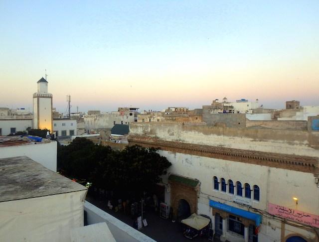 View of Essaouira Medina