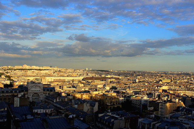 View over Paris from Montmartre