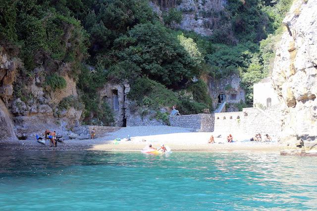 Boat tour of the Amalfi coast, Italy