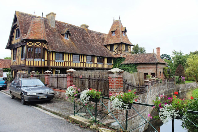 Beuvrons-en-Auge, Normandy, France