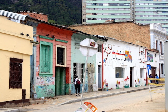 The Historical centre of Bogota, Colombia