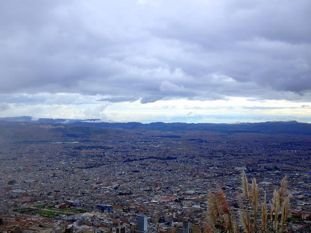View of Bogota from the Cerro de Monserrate
