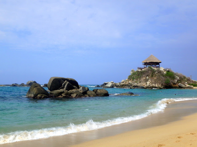 El Cabo San Juan beach in Tayrona National Park, Colombia