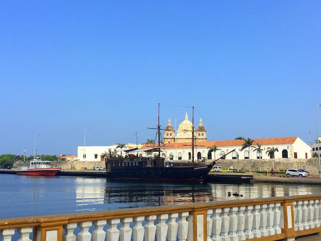 Cartagena port, Colombia