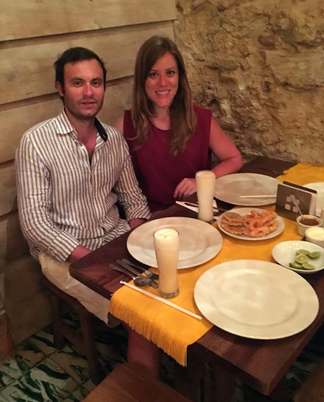 La Casa del Socorro restaurant in Cartagena, Colombia