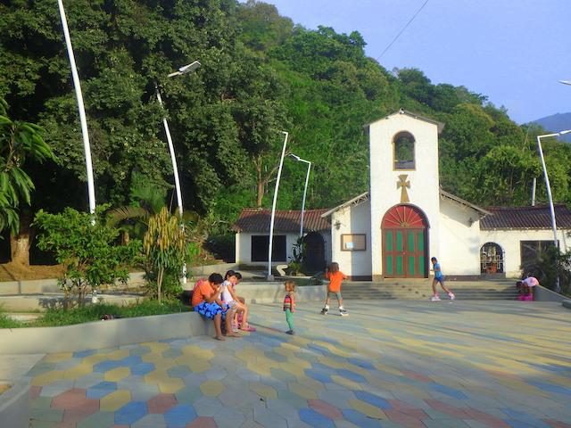 Church in Minca, Colombia