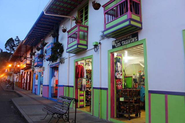 Calle Real in Salento, Colombia