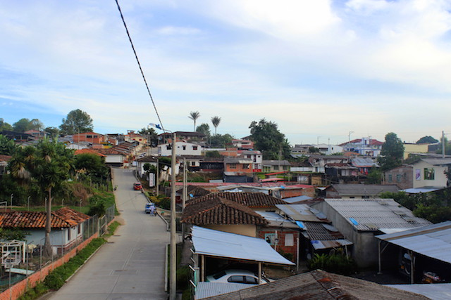 Early morning in Salento, Colombia