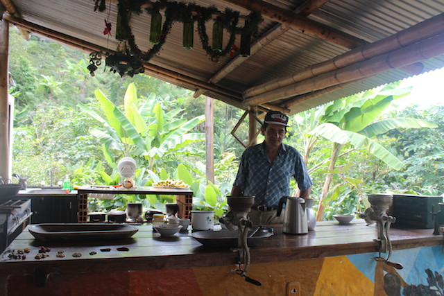 The Plantation House coffee farm in Salento, Colombia